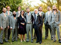 groomsmen? without jackets maybe?