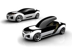 SAAB by Feliciano Ruy-Díaz Car concept Design. Vehicle For The Future