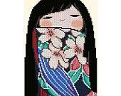 Japanese Kokeshi Doll 1 - SAKURA