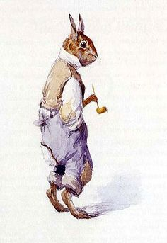 """Br'er Rabbit"" (early 20th century) by A.B. Frost"