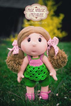 Crochet doll Lalka na szydełku www.facebook.com/misiekrolisie