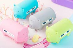 Piggy HUB di Orico: un simpatico HUB USB 3 -