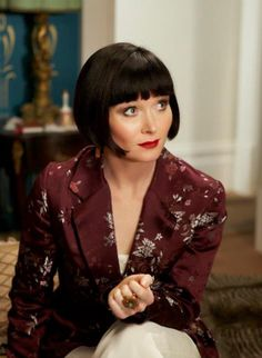 "Gorgeous ""Phryne Fisher"" ~ Miss Fisher's Murder Mysteries"
