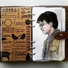 In love with my filo ❤ #harrypotter #sketchbook #art #drawing #arts_help