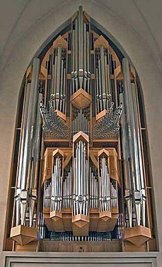 1778 Bosch organ Hallgrimskirkja, Reykjavík, Iceland