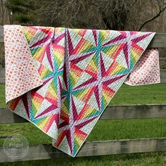 Magic Spark Quilt | During Quiet Time