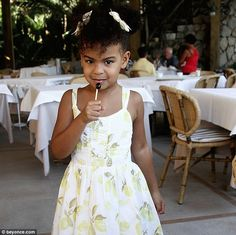 Beyonce shows off her shapely figure in revealing animal-themed outfit Little Princess, Ivy Bleu, King B, Ivy Look, Blue Ivy Carter, Beautiful Black Babies, Mrs Carter, Beyonce And Jay Z, Beyonce Family