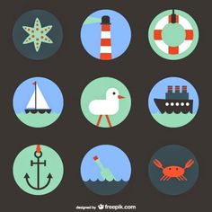 Nautical is a topic very much appreciated for graphic and web designers, and today we share awesome compilation with 10 free nautic vectors designed Photoshop World, Free Photoshop, Photoshop Design, Vector Design, Vector Art, Vector Graphics, Basic Image, Sailor Theme, Surface Art