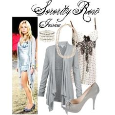 Sorority Row #SororityRow #LeahPipes #JessicaPierson Sorority Row, Leah Pipes, North America, Luxury Fashion, Outfits, Shopping, Collection, Tops, Design