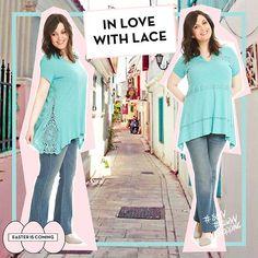 #lace #laces #happy #plussize #fashion #woman #love #spring #colours #jeans #happysizes curvy #shopping Spring Is Here, Peplum, Curvy, Plus Size, Colours, Woman, Jeans, Lace, Happy