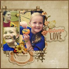page by Julie L. using Shabby Miss Jenn's Autumn Love