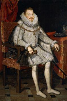 Gonzalez y Serrano , Bartolome (Spanish, 1564-1627) -- Фелипп III, король Испании, 1615, 160 см x 109 см, холст, масло