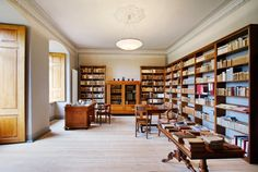 Library of the Abbey of the Holy Grave (Kloster Stift zum Heiligengrabe), Germany