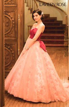 ラビアンローゼ No.46-0077 ウエディングドレス 結婚式