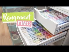 • TOUTE MA FIMO - Rangement Pâte Polymère⎪ Fancy Puppet - YouTube Diy Rangement, Keep In Mind, Kids Bedroom, Polymer Clay, Creations, Messages, Storage, Puppet, Crafts