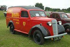 Vauxhall/Bedford van