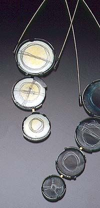 "Artist: Jan Smith: ""Decending Circles"""