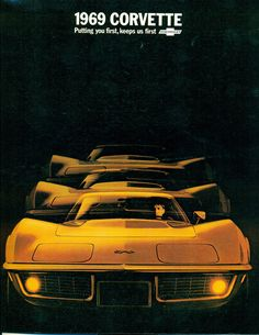 1969 Chevrolet Corvette Stingray ad