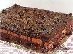 vişneli çikolatalı pasta