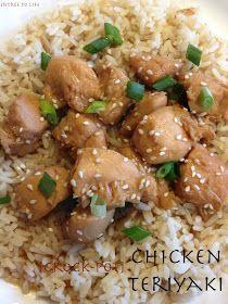 Entree To Life: Crock-Pot Chicken Teriyaki