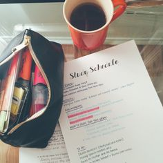 noterize: Study schedules are great for planning In advance and staying on track
