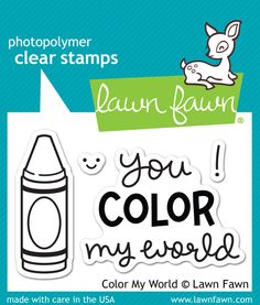Color My World ~ $4.00 at lawnfawn.com