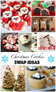 Love all of these Christmas Cookies! Great cookie swap ideas!