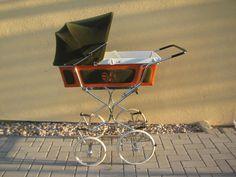 Nostalgie Kinderwagen aus den 70ern