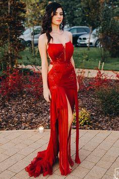 CRISTALLINI #RedCarpet #RedDress #PromDress #EveningDress #GlamourStyle