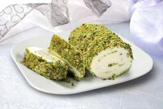 Arabic ice cream. Rolled in pistachios.cannot beat it. Cream chunks inside.