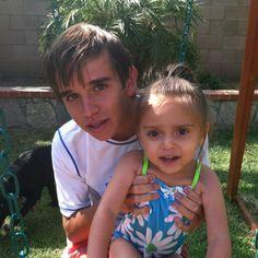 Michael and his God Sister Jocelyn