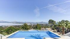 Immobilien Mallorca : Villa mit diesem Blick auf das Meer ! http://www.casanova-immobilien-mallorca.com/de/villa-haus/2351152/1