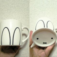 Every sip is a SQUEE with this easy bunny mug. The 42 Definitively Cutest DIY Projects Of All Time Sharpie Crafts, Sharpie Pens, Sharpies, Cute Diy Projects, Craft Projects, Homemade Gifts, Diy Gifts, Diy And Crafts, Crafts For Kids