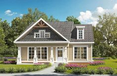 Craftsman with Terrific Storage - 36092DK | Architectural Designs - House Plans