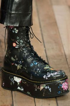5d4270684b2 Doc Martens Boots · R13 at Paris Fashion Week