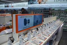 Elektronikfachmärkte am POS Computer, Pos, Stores, Architecture, Photo Wall, Electronics, Frame, Design, Decor