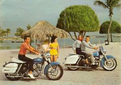 1963 Harley Davidson | print ad
