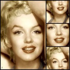 Marilyn was truly a beautiful woman and very photogenic. She really didn't have to try, it was just her natural beauty shining through.