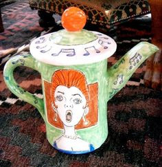 Singing teapot by Mussoff.