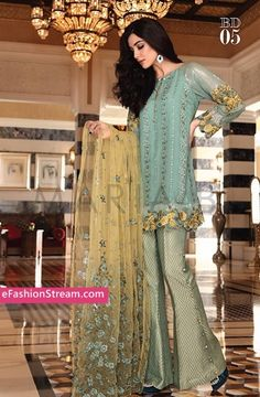 Maria.B Mbroidered Eid Collection 2016-2017 -eFashionstream 9