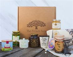 Tour France without ever leaving your kitchen with this Tour de France gift box.
