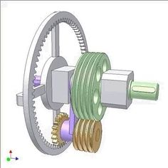 Duc Thang Nguyen has spent his retirement rendering new machine gears in 3D design software. The results are hypnotic.