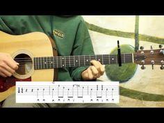 Blue Ridge Cabin Home - Bluegrass Guitar Lesson - YouTube