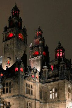 Valkyrie Castle, the most evil, conceiving looking castle to ever have your eyes thrust upon. Red lights appear in the windows, to scare off any of the the White Queen's spies! Hallways covered in black, shadows leaking every corner. The castle, being filled with many of the creatures of Wonderland slaving away for the Red Queen.