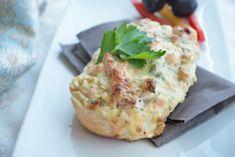 Überbackene Brötchen als schneller Snack oder zum Abendessen. Das Rezept ist einfach und schmeckt köstlich - eine Idee für die nächste Party.
