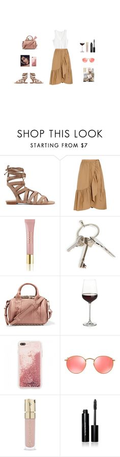 """""""Untitled #132"""" by nataliasmigielska ❤ liked on Polyvore featuring Schutz, J.Crew, AERIN, Givenchy, Crate and Barrel, Ray-Ban and Bobbi Brown Cosmetics"""