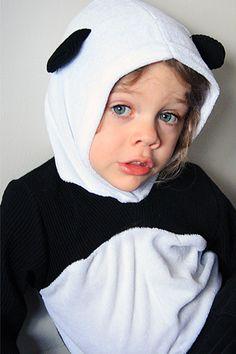 Panda hoodie!