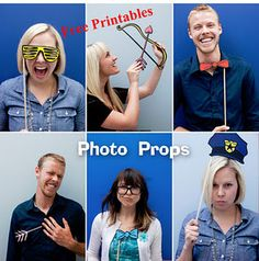 """Tracy - How about a """"What will you be when you grow up"""" photo booth theme?  Cop hat, chef, teacher glasses, nerd glasses, football helmet...a sign that says """"do you want fries w/ that??"""" hahahaha!!"""