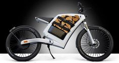 Feddz electric cargo scooter Has Storage Space Instead of a Gas