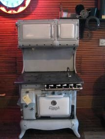 Eureka wood/gas cook stove